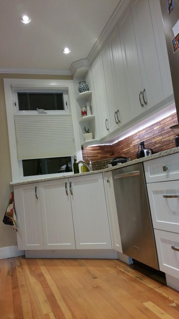 White Shaker Kitchen Reno